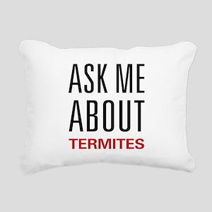 asktermit Rectangular Canvas Pillow