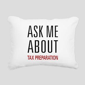 asktax Rectangular Canvas Pillow
