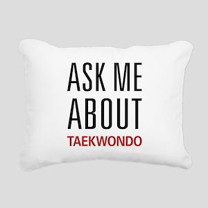 asktaekwon Rectangular Canvas Pillow