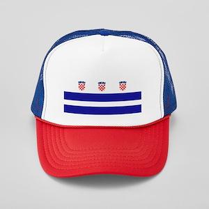Croatia Dc Trucker Hat