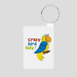Crazy Bird Lady! Keychains
