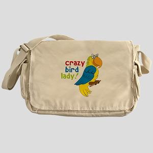 Crazy Bird Lady! Messenger Bag