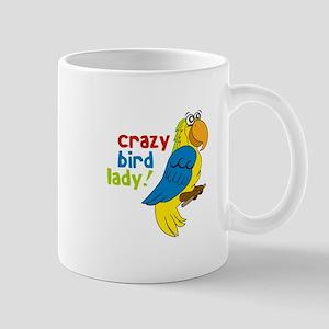 Crazy Bird Lady! Mugs