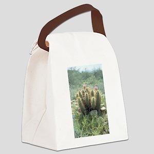 Desert Blooms Canvas Lunch Bag