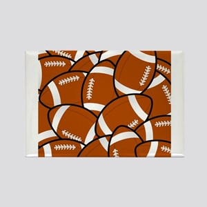 American Football Pattern Magnets