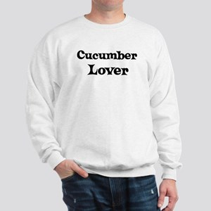 Cucumber lover Sweatshirt