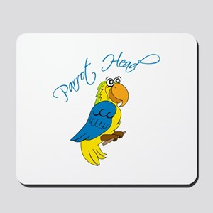 Parrot Head Mousepad