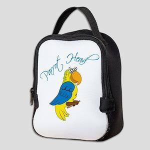 Parrot Head Neoprene Lunch Bag