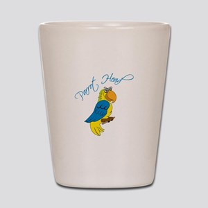 Parrot Head Shot Glass