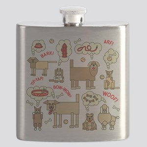 What Dogs Think Flask