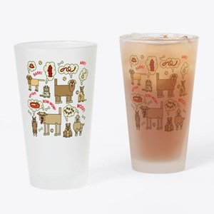 What Dogs Think Drinking Glass