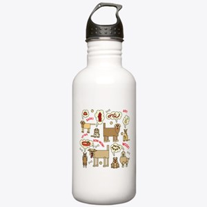 What Dogs Think Water Bottle