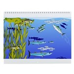 Kelp Bed Fish Wall Calendar