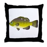 Opaleye Throw Pillow