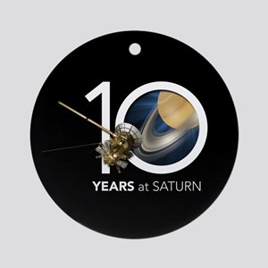 Cassini @ 10! Ornament (round)