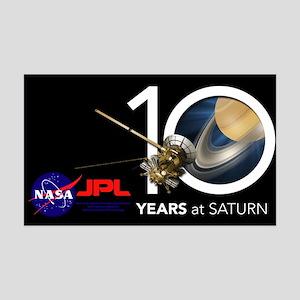 Cassini @ 10! 35x21 Wall Decal