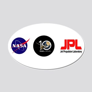 Cassini @ 10! 20x12 Oval Wall Decal