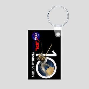 Cassini @ 10! Aluminum Photo Keychain Keychains
