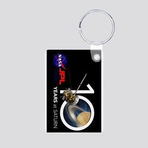 Cassini @ 10! Aluminum Photo Keychain Keychains