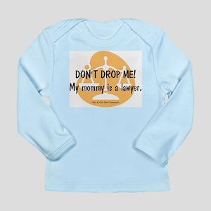 Mommy Lawyer - orange Long Sleeve Infant T-Shirt