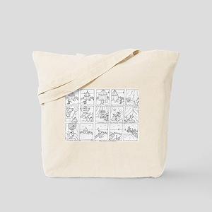 Hamish & Marcel Tote Bag