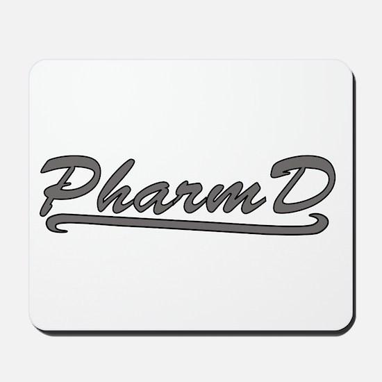 gray pharmd Mousepad