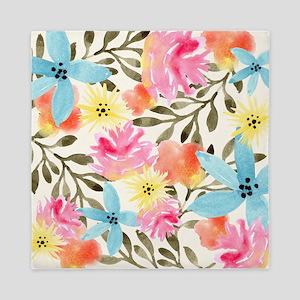 Paradise Floral Print Queen Duvet