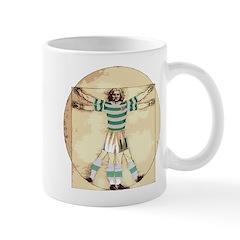 vitruvian celt Mugs