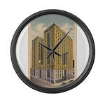 Mayflower Hotel Large Wall Clock