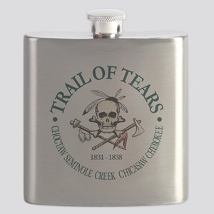 Trail of Tears Flask
