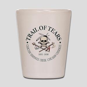 Trail of Tears Shot Glass