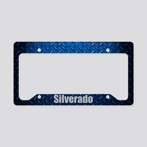 Silverardo Diamon Plate License Plate Holder
