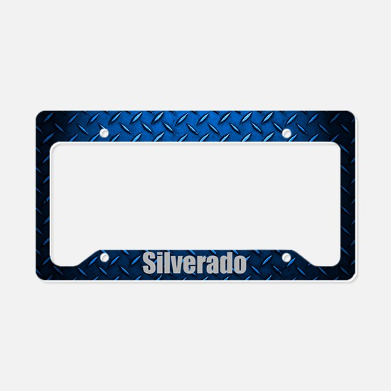 Silverardo Diamon Plate License Plate Holder