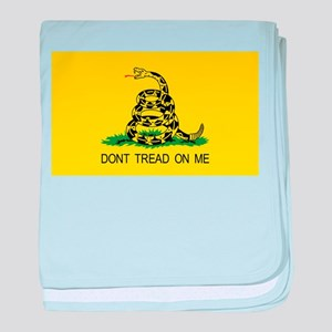 dont tread on me gifts baby blanket
