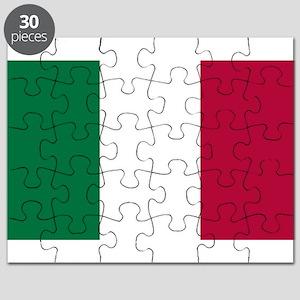 Italy Flag Italian Flag Puzzle