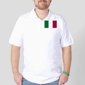 Italy Flag Italian Flag Golf Shirt