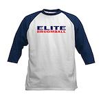 Elite Broomball Kids Baseball Jersey