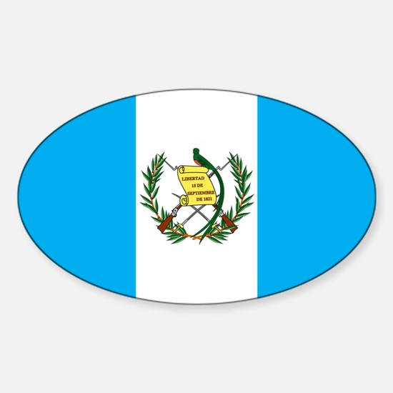 guatemalan Flag gifts Decal