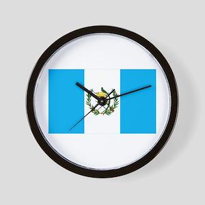 guatemalan Flag gifts Wall Clock