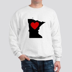 Minnesota Heart Sweatshirt