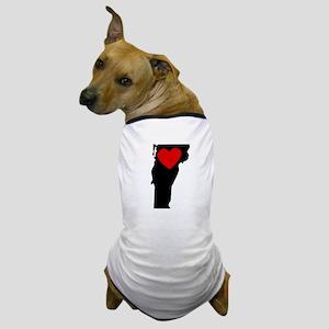 Vermont Heart Dog T-Shirt