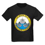 USS McKEE Kids Dark T-Shirt
