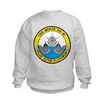 USS McKEE Kids Sweatshirt