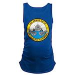 USS McKEE Maternity Tank Top