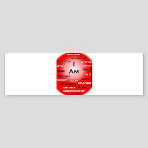 I Am Red! Bumper Sticker