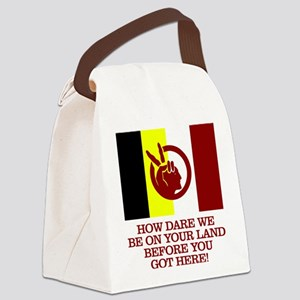 AIM (How Dare We) Canvas Lunch Bag