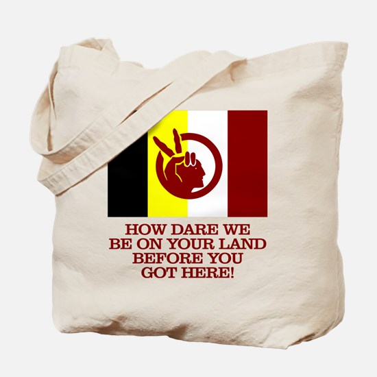 AIM (How Dare We) Tote Bag