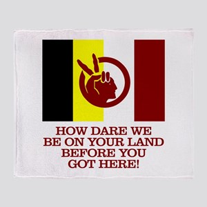 AIM (How Dare We) Throw Blanket