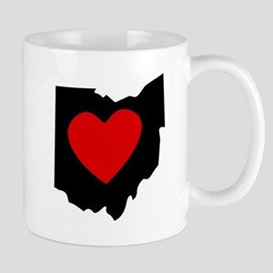 Ohio Heart Mugs