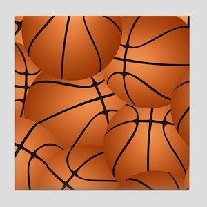 Basketball ball pattern Tile Coaster